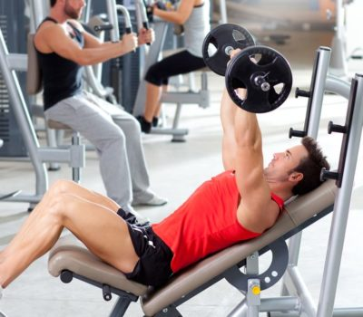 Bodybuilding Training Session